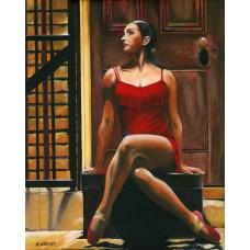 Print - Tango Rouge by Alan Wright