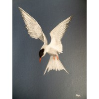 Unframed art - Protecting The Nest by Andy Harrower