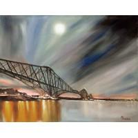 Card - Forth Rail Bridge by Annette Burgess