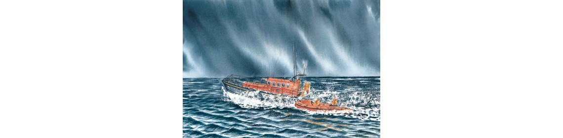 Anstruthers lifeboat print