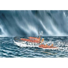 Print - Anstruther Lifeboat by Charlie Marshall