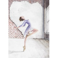 Print - Ballerina by Charlie Marshall