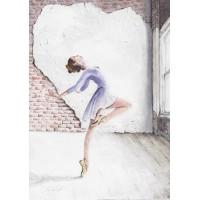 Print - Ballerina by Charlie Marshall