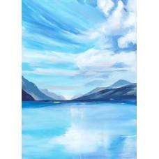 Print - Loch Lomond by Claire Mckinnell