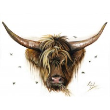 Card - Highland Cow by Claire Redford