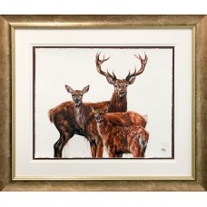 Framed Art - Family Portrait by Georgina McMasters