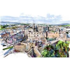 Art Print - Edinburgh Castle