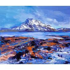 Art Print - Siloch From Loch Maree