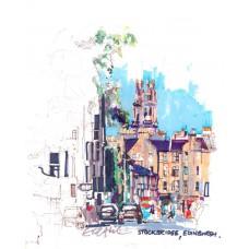 Print - Stockbridge, Edinburgh