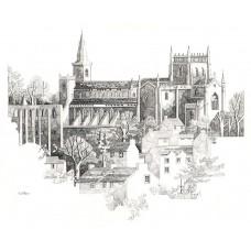 Print - Dunfermline by George Aitken