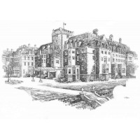 Print - Gleneagles by George Aitken