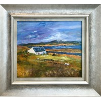 Framed Art - Lonely Croft by Kathleen Conboy