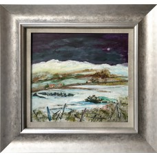 Framed Art - Winter In Perthsire by Kathleen Conboy