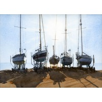 Print - All Ashore by Ken Young