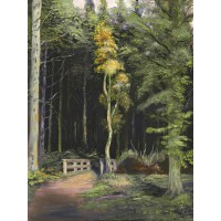 Card - Kelty Woods by Peter Torley