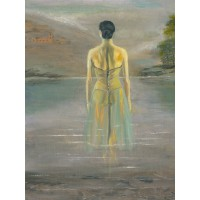 Print - Lady In The Loch by Peter Torley
