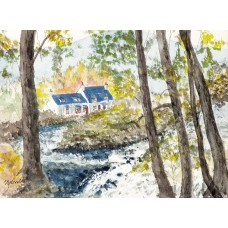 Print - Falls Of Dochart by Phil Spence