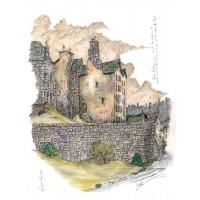 Print - Lower Calton Old Edinburgh by Robbie Peterson