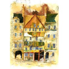 Print - Mahogany Lane Old Edinburgh by Robbie Peterson