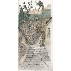 Print - Pirates Lane, Shetland by Robbie Peterson