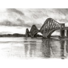 Print - Forth Rail Bridge by Sam Coull