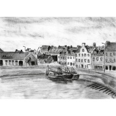 Print - Pittenweem Harbour by Sam Coull