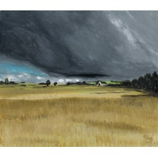 Print - Scotlandwell Summer Fields by Sam Coull