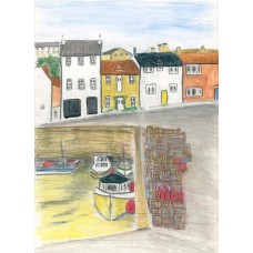 Print - Pittenweem Creels by Sam Coull