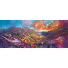 Limited edition print - Applecross Pass by Scott Naismith