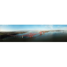Digital Art Print - The Forth Rail Bridge